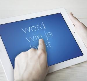 <span>word wie je bent app</span><i>→</i>