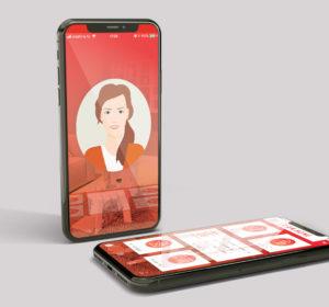 <span>AM Amy Avatar en app</span><i>→</i>